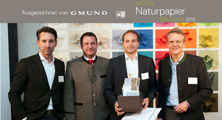 1. Platz Naturpapierdrucker Award